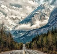 Road to the Clouds, Alberta