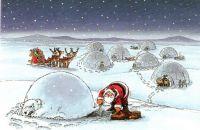short-sighted Santa!