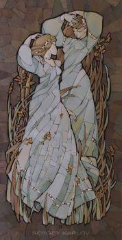 Tile Mosaic, Sergey Karlov