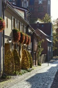 little alley in Neuruppin/Brandenburg