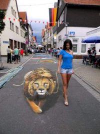 Sidewalk art 7