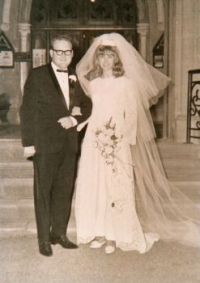 My wedding day 2nd March 1968