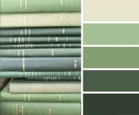 Old, Green Books