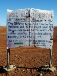 Sign Dog Fence 1