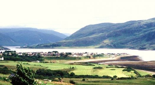 Ullapoole on Loch Broom Scotland