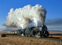 Steam Loco - Karoo - South Africa