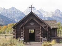 Chapel at Grand Tetons Nat.Park