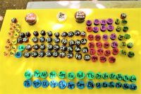 Periodic Table of cupcakes