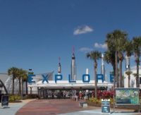 Entryway...to Kennedy Space Center, FL