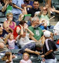 Panic at the ballgame