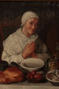 The old woman to pray before meal, 1843-45
