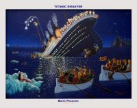 """Titanic Disaster"" by Boris Posavec"
