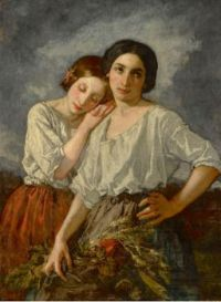 Thomas Couture (French, 1815–1879), Two Sisters