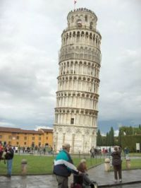 Leaning tower of Pisa 2007