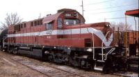 Wabash & Ohio Railroad ALCO RSD15 442 Defiance, OH. April 1996