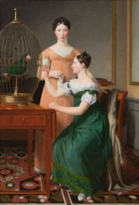 Bella and Hanna. The oldest daughters of M.L. Nathansons