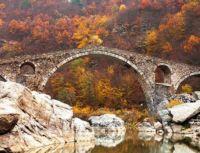 starý most v bulharských horách