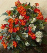 Brunhilde Stübinger 1912 - 2006 Blumenstillleben