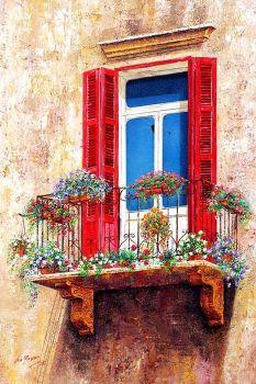 Lebanese balcony