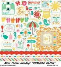 "New Theme Sunday:  ""Summer Bliss"""