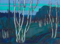 Silver Birches, Tom Thomson