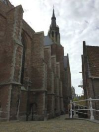 Back side (The New Church of Delft)