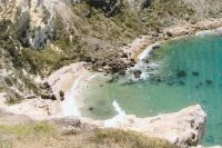 Cove on Santa Cruz Island in the Channel Islands National Park