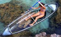 See-through kayak