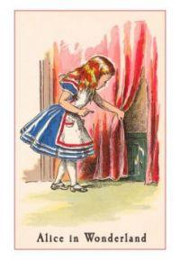 Alice finds the hidden door
