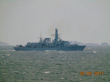 HMS Iron Duke Type 23 Frigate (F234)