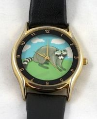 Raccoon Watch - Theme - Clocks & Timepieces