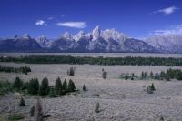 One last shot of the Grand Tetons