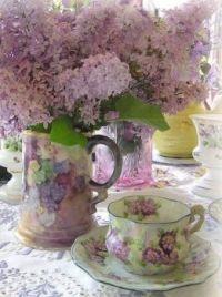 Pale Lilac Tea