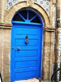Door in Essaouira, Morocco