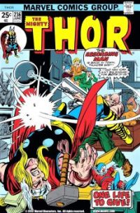 Thor Versus The Absorbing Man