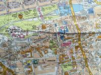 Map of Old Town, Edinburgh
