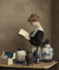 "William McGregor Paxton, ""The Housemaid"", 1910"