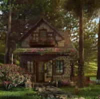 Witch-cottage.