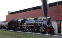 old steam locomotives in south africa