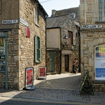 Broad Street/Red Lion Street, Stamford - 13th July 2013