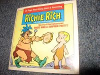 Richie Rich Magic Man/Surprise Party Book and Record