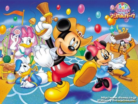 mickey and friends2