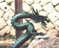 Green Eastern Dragon
