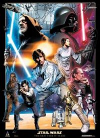 Star Wars lithograph