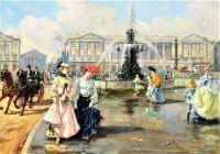 Place de la concorde (c. 1872)
