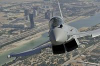 eurofighter over Abu Dhabi