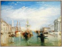 Turner, Venice, from the Porch of Madonna della Salute