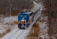 VIA train at Limehouse, Ontario