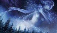 Ice Crystal Snow Maiden