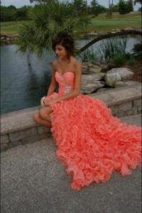 Coral Gown